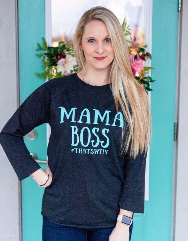 Crazy Heifer Mama Boss Tee