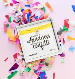 SHINElife Kindness Like Confetti Necklace