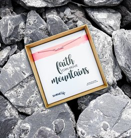 SHINElife Faith Move Mountains Necklace