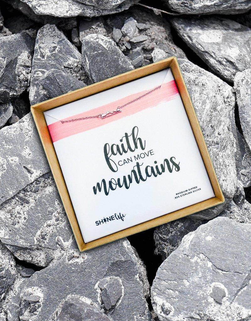 SHINElife Faith Move Mountains Necklace