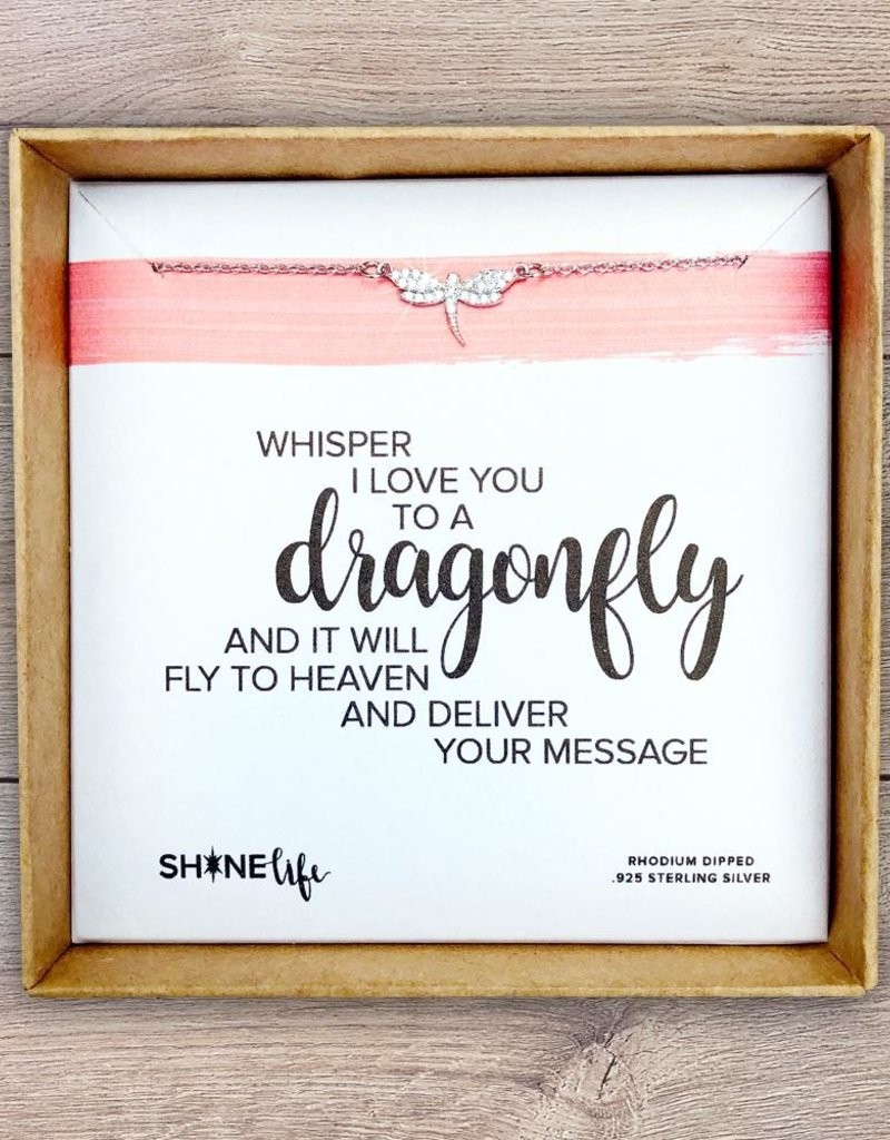 SHINElife Dragonfly Necklace