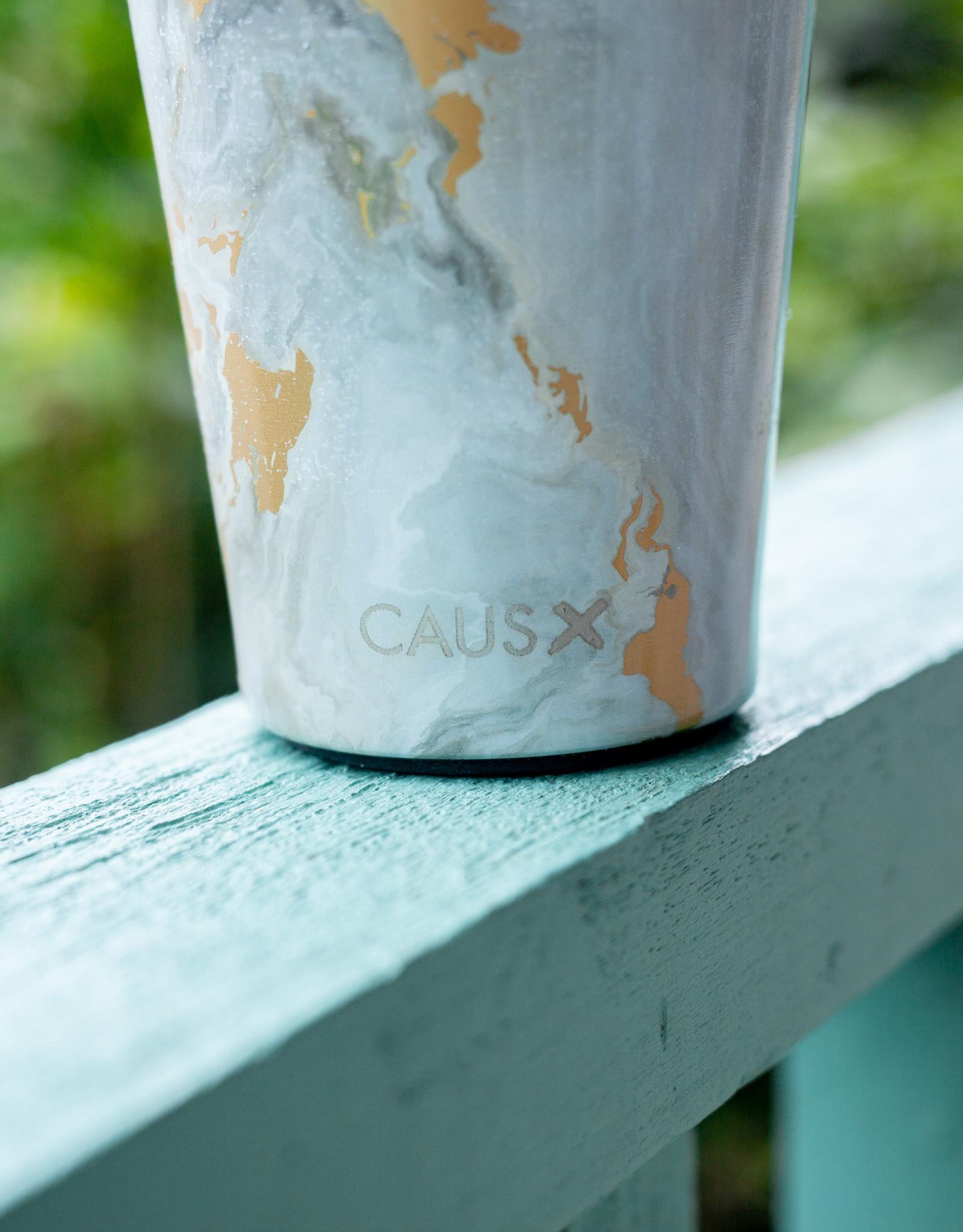 Caus Coffee Tumbler Grey Marble