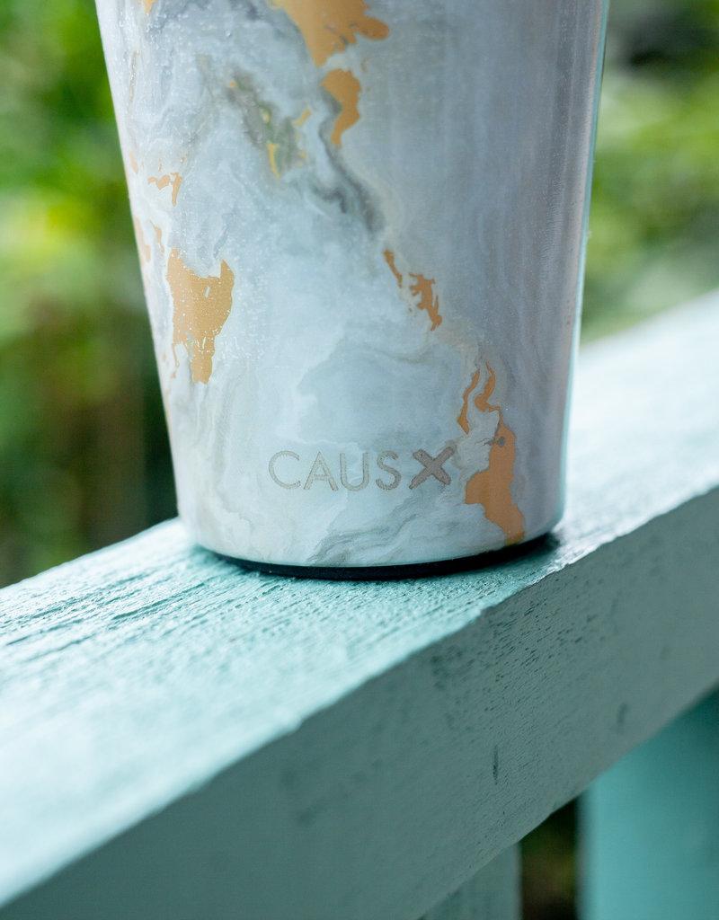 Caus Caus Coffee Tumbler Grey Marble