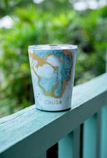 Caus Caus Coffee Tumbler Teal Marble