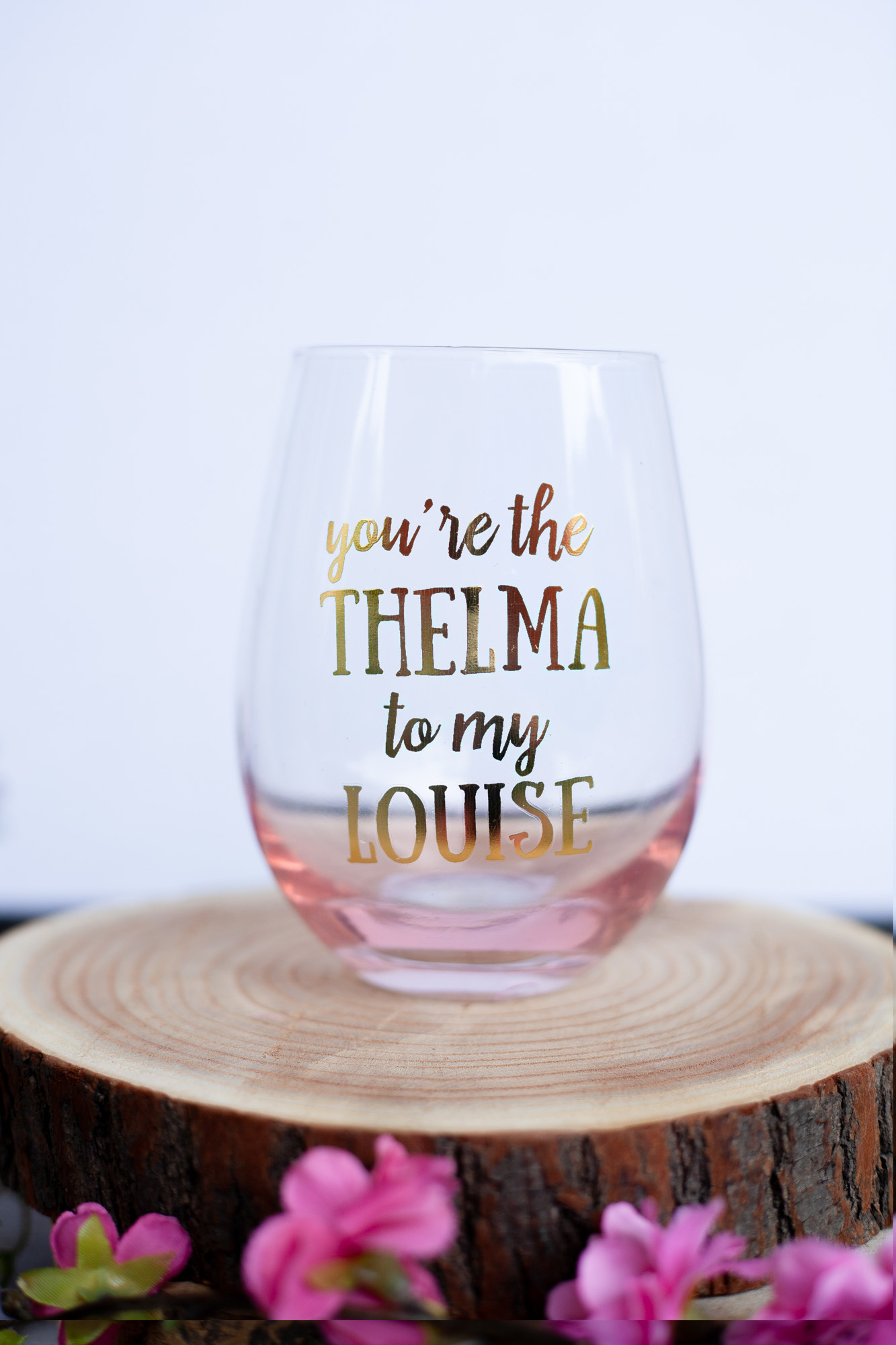 Thelma Amp Louise Wine Glass The Busy B