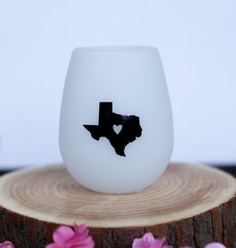 About Face Designs Texas Silicone Wine Glass