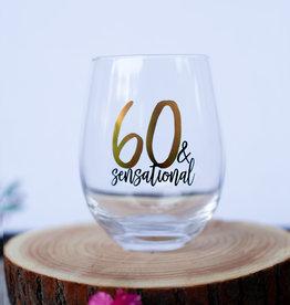Mudpie 60 Sensational Wine Glass