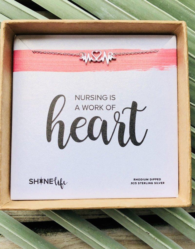 SHINElife Nursing Necklace - Silver