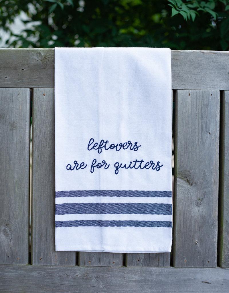 Ever Ellis Leftovers Tea Towel