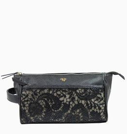 purseN Zora Travel Case - Black Lace