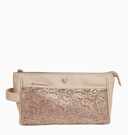 purseN Zora Travel Case - Blush Lace