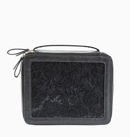 purseN Ava Travel Case - Black Lace