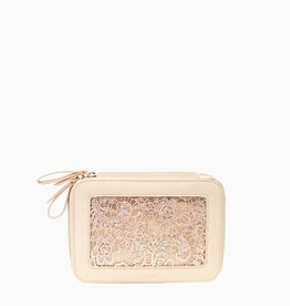 purseN Voyager Jewelry Case - Blush Lace