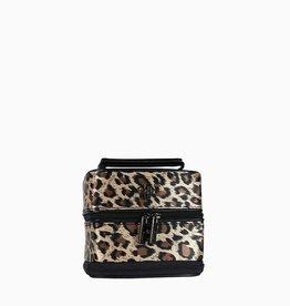purseN Tiara Weekender Jewelry Case - Leopard