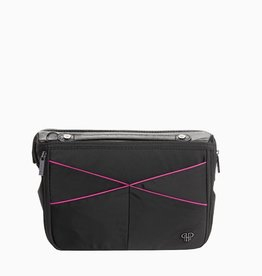 purseN LittBag Handbag Organizer - Black/Hot Pink