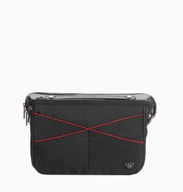 purseN LittBag Handbag Organizer - Black/Red