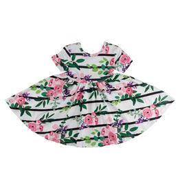 Mila & Rose Classic Floral Stripe