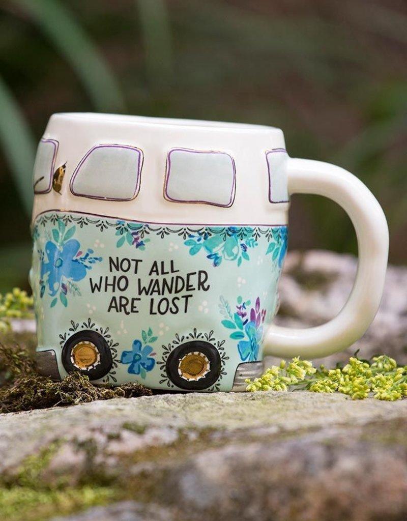 Natural Life Wander Van Mug