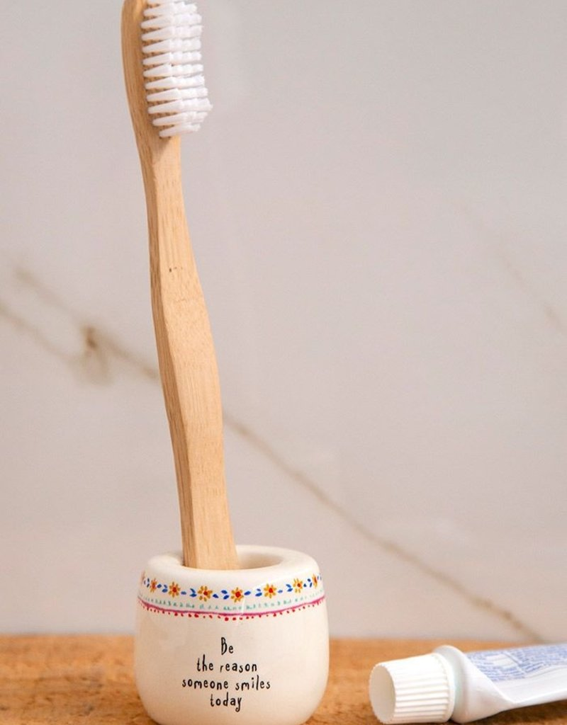 Natural Life Toothbrush Holder - Be The Reason