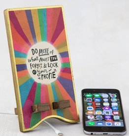 Natural Life Phone Stand - Forget To Look