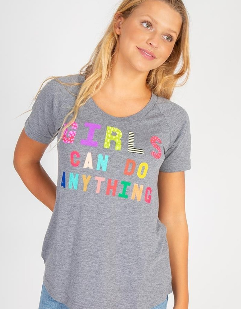 Natural Life Girls Can Do Anything Tee