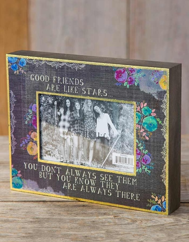 Natural Life Good Friend Picture Frame