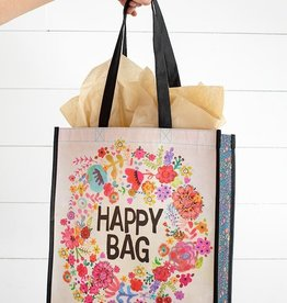 Natural Life Happy Bag Flower Wreath