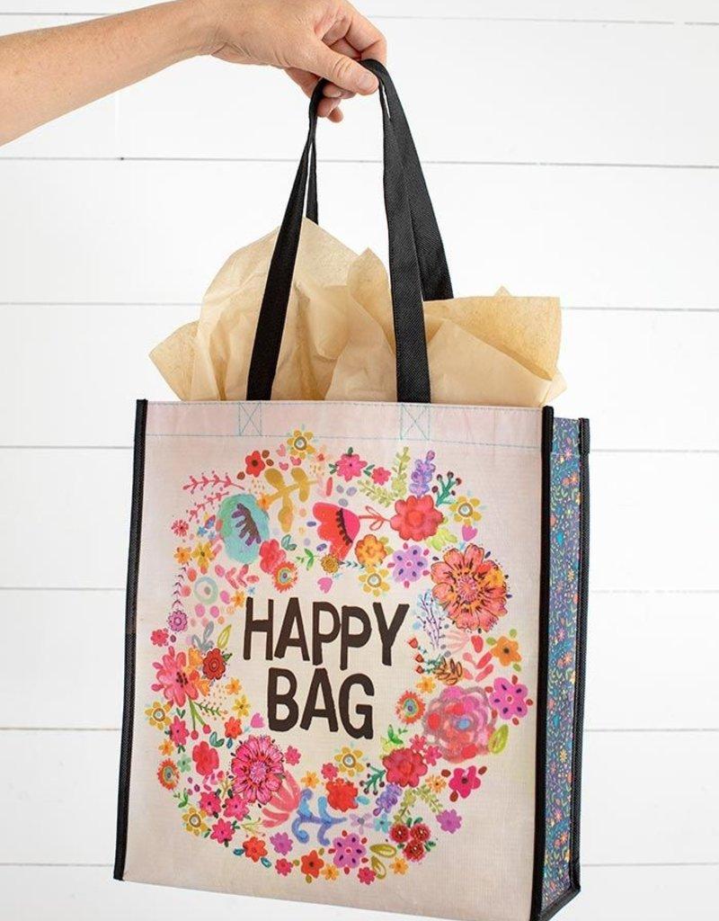 Natural Life Happy Bag Flower Wreath