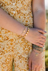 my saint my hero Mantra of Love Bracelet
