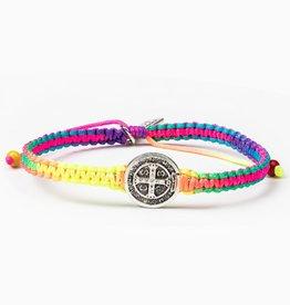 my saint my hero New Day Rainbow Bracelet - Gold