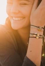 my saint my hero Say Yes Bracelet - White/Gold