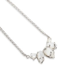 Natalie Wood Designs Daydreamer Necklace - Silver/Ivory Pearl