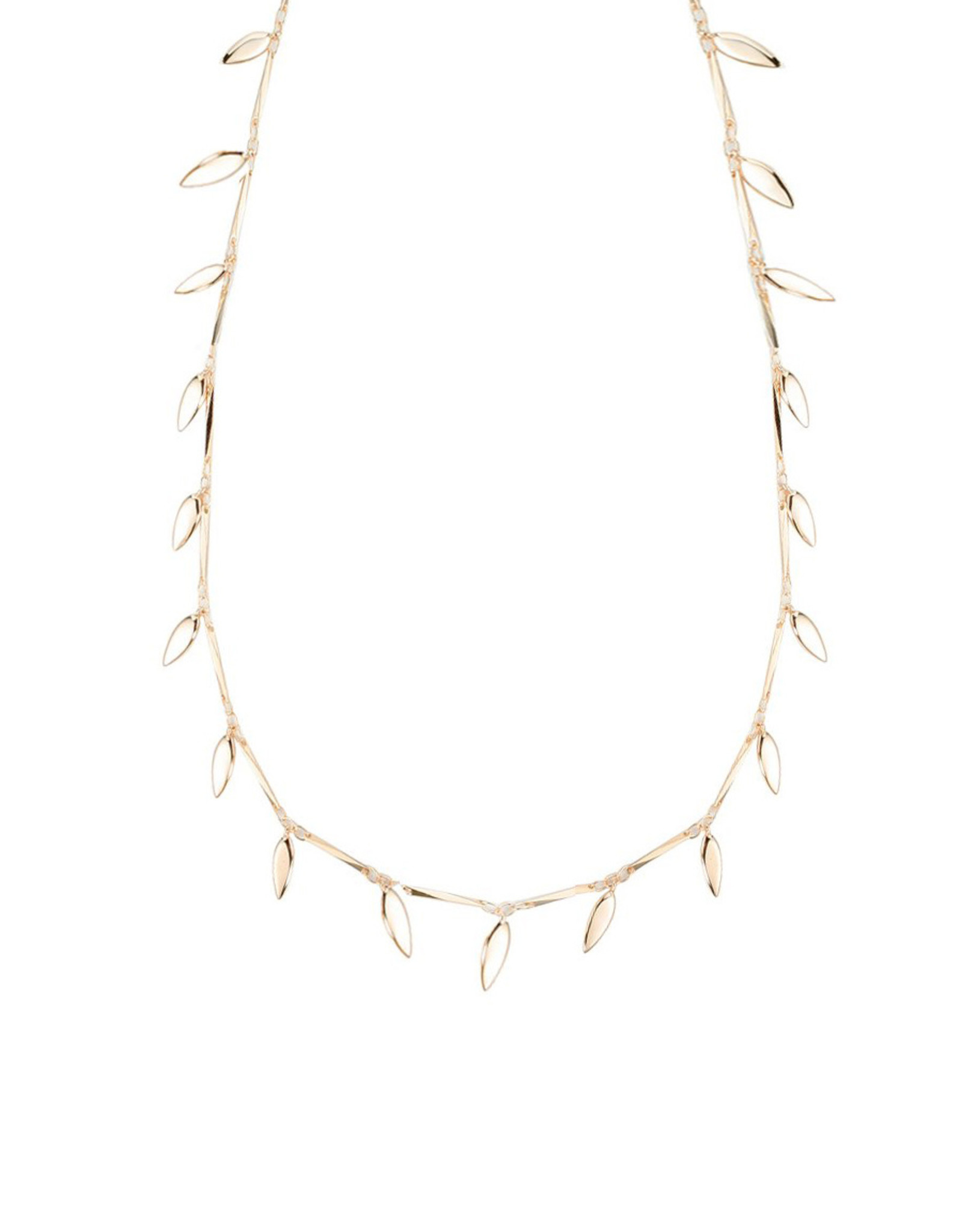 Natalie Wood Designs Choose Happy Adjustable Necklace - Gold