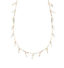 Natalie Wood Designs Choose Happy Adjustable Necklace - Gold