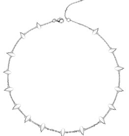 Natalie Wood Designs Choose Happy Mini Necklace - Silver