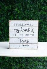 Followed Heart Texas 8x8