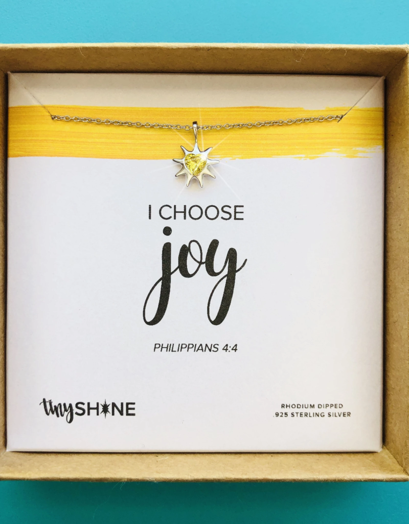 SHINElife I Choose Joy Necklace