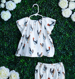 Milkbarn Chicken Dress Set