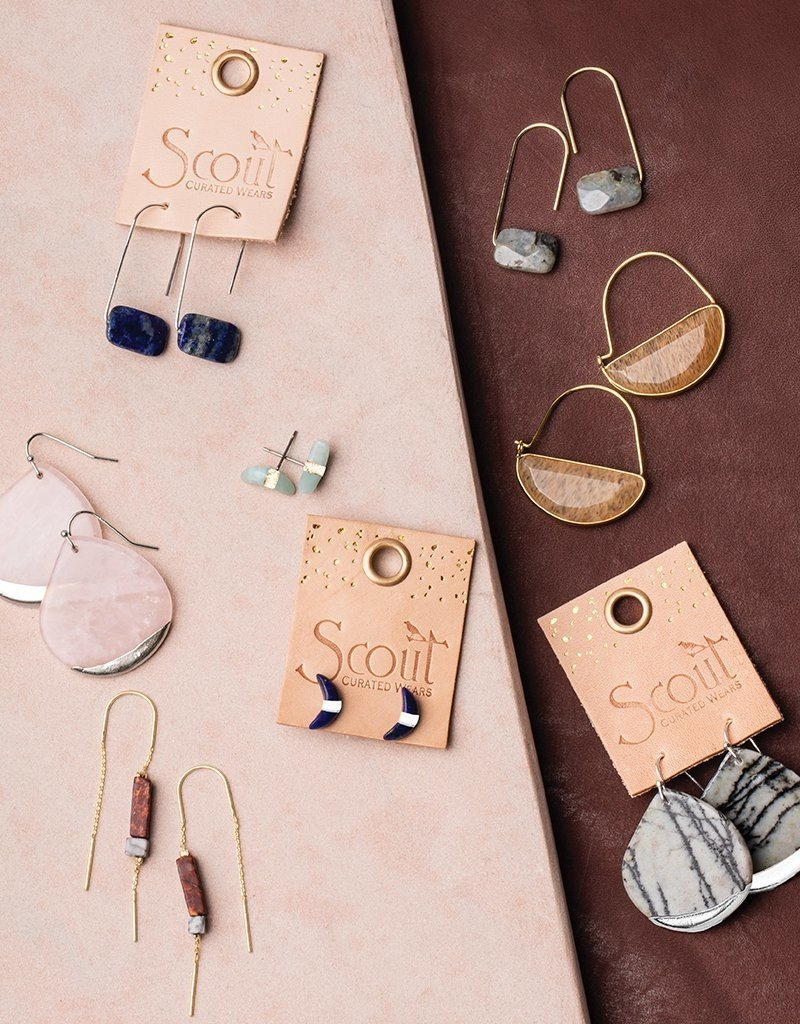 Scout Curated Wears Crescent Moon Stud