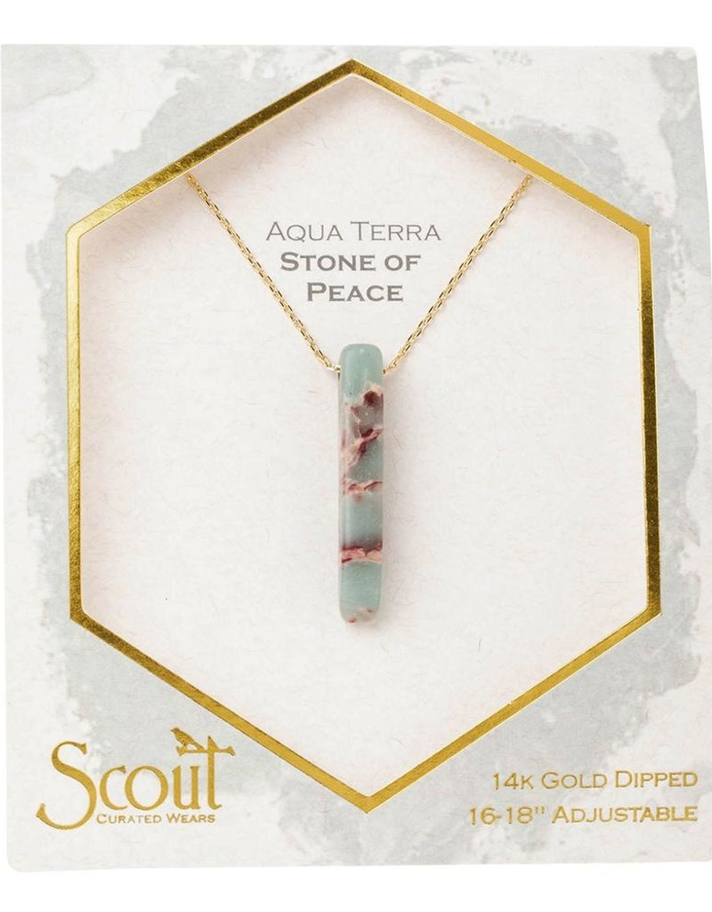 Scout Curated Wears Stone Point Necklace