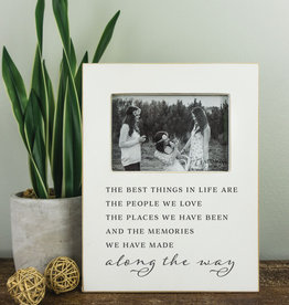 Clairmont & Co. Best Things In Life Frame