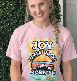 Joy Comes Tee