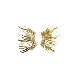 Michelle McDowell Venice Earrings - Gold
