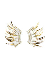 Michelle McDowell Venice Earrings - White