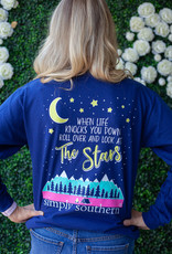 simply southern Adult - Look At The Stars Tee