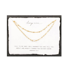 Dear Heart Always Near Layered Necklace