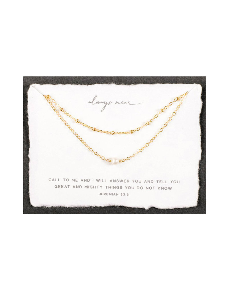 Dear Heart Always Near Layered Necklace