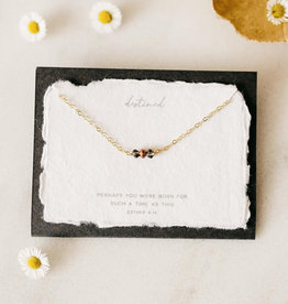 Dear Heart Destined Necklace - Gold