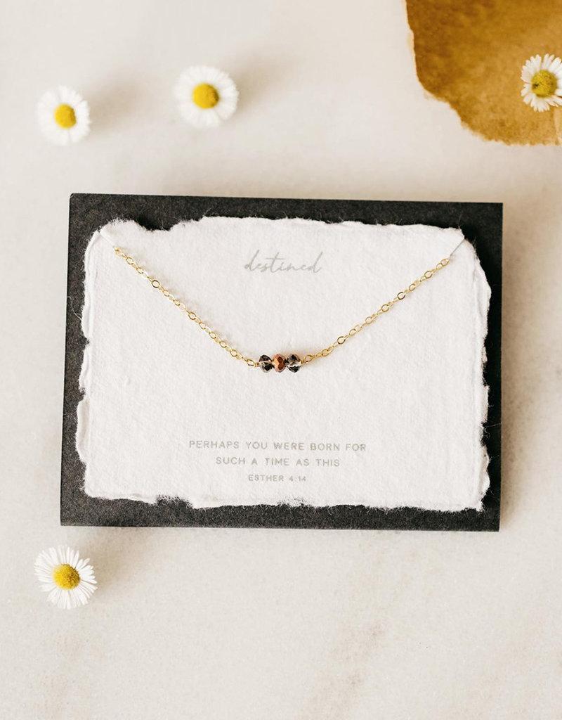 Dear Heart Destined Necklace - Gold