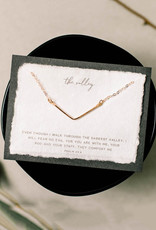 Dear Heart Mini Valley Necklace - Silver